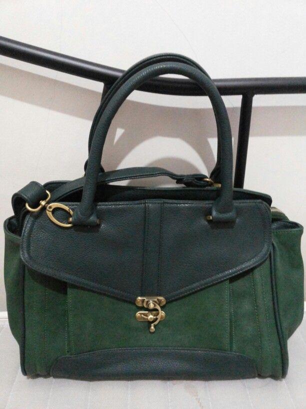 Green Son Altese Handbag from Sophie Martin