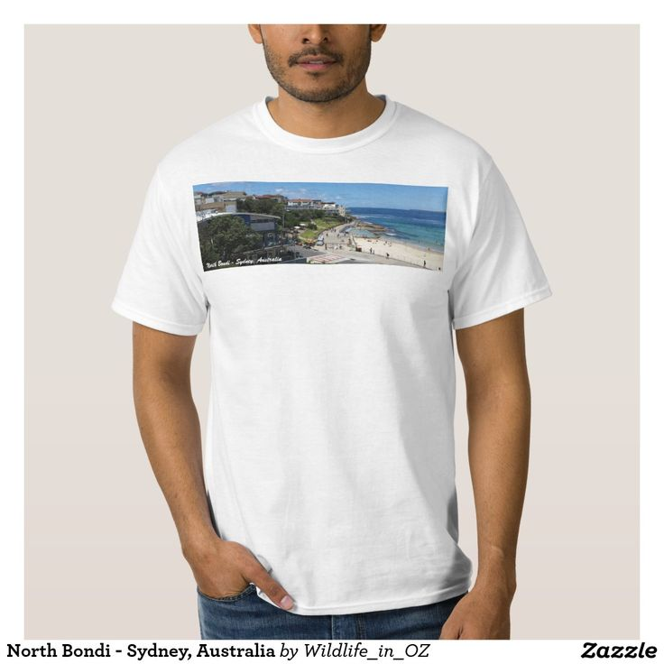 North Bondi - Sydney, Australia T-shirts - Bondi Beach Australiana - #bondibeach Click on photo to view item then click on item to see how to purchase that item. #bondi #iconicbeach #sydney #australia #surf #sunrise #sand #surf