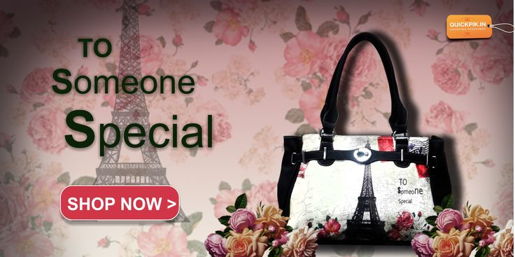 Get Stylish Handbags To Someone Special.. with...quickpik.in