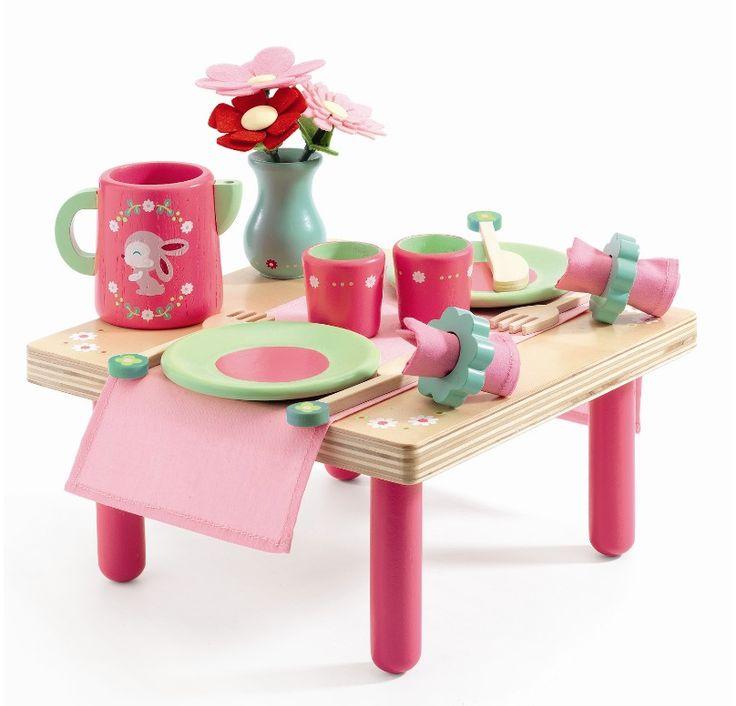Djeco Frokostbord - Lilli Rose hos Tinga Tango Designbutik #djeco#legetøj#børneværelse