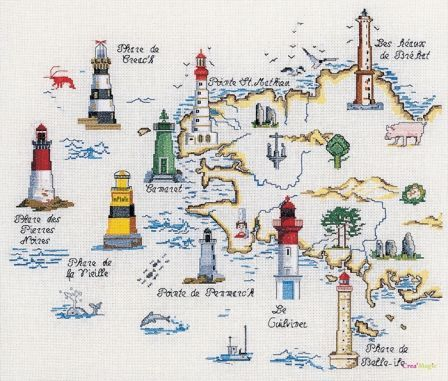 #Lighthouse - #phares bretons (imagine all the ships crashing along the coast without them) - http://dennisharper.lnf.com/