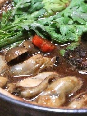 牡蠣の土手鍋(ドテ鍋)♪ by クッキングSパパ [クックパッド] 簡単 ...