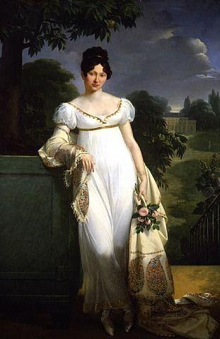 Portrait of Félicité-Louise-Julie-Constance de Durfort, Maréchale de Beurnonville by Merry-Joseph Blondel: