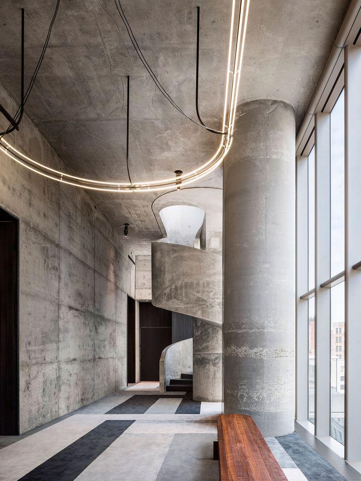 Imágenes de las instalaciones comunes de la Torre  56 Leonard de Herzog & de Meuron | METALOCUS