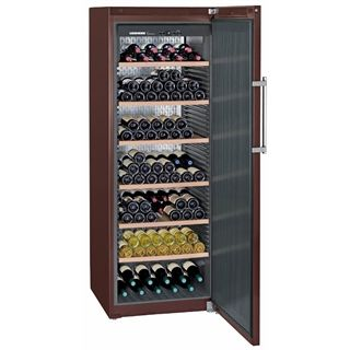 Liebherr GrandCru Single Temperature Wine Cabinet - WKt 5551 - Capacity: 253 Bottles - Solid Door - Perfect for anywhere in your home, kitchen, dining room or living room!