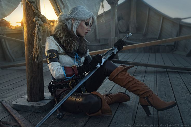 Character: Cirilla Fiona Elen Riannon of Cintra (aka Ciri) / From: Andrzej Sapkowski's 'The Witcher' Short Stories and Novels & CD Projekt RED's 'The Witcher' Video Game Series / Cosplayer: Alena (Nasevich) Shvidkaya (aka Denika Kiomi) / Photo: aKami (Alexandra Kaminskaya) (2017)