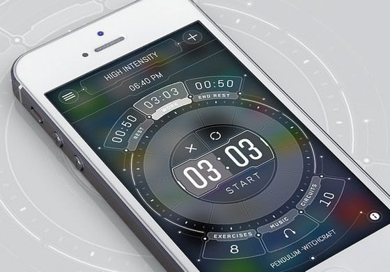 半透明レイヤーを使った、素敵iPhoneアプリUIデザインまとめ