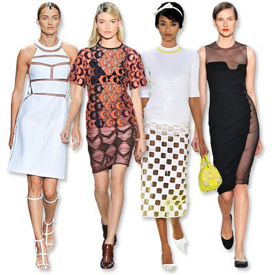 #Spring2013 Fashion Trends: How To Wear Peek-a-Boo