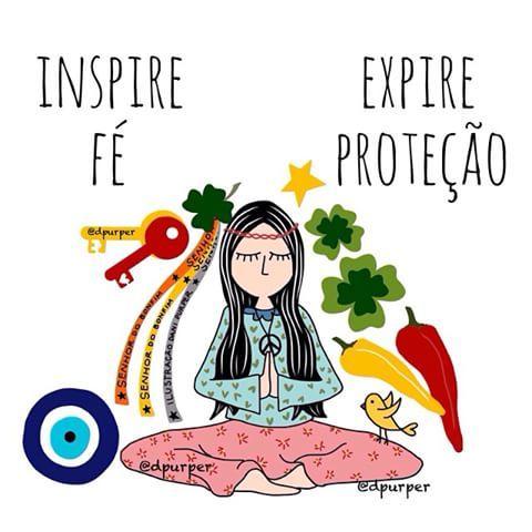 Inspire Fé Expire Proteção ❤️