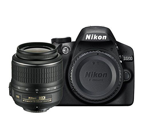 Nikon D3200 Digital SLR with 18-55mm VR II Compact Lens Kit - Black (24.2 MP) 3.0 inch LCD * Check out the image by visiting the link. (This is an Amazon Affiliate link and I receive a commission for the sales)
