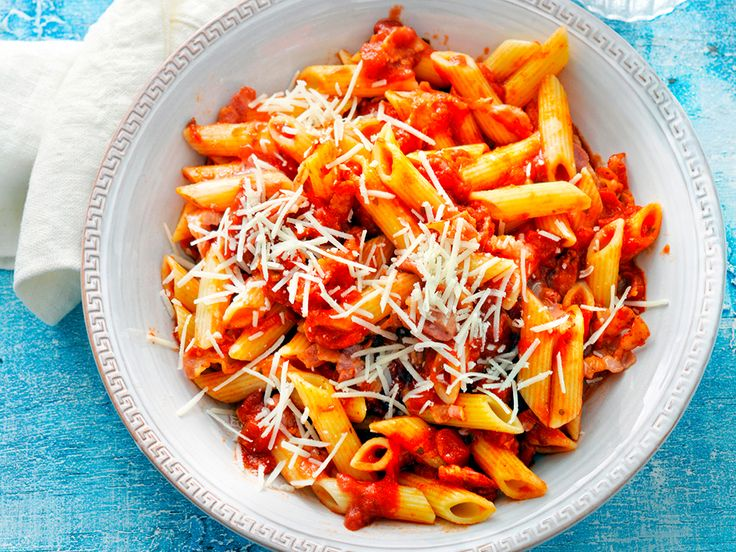Updated Penne all'Amatriciana