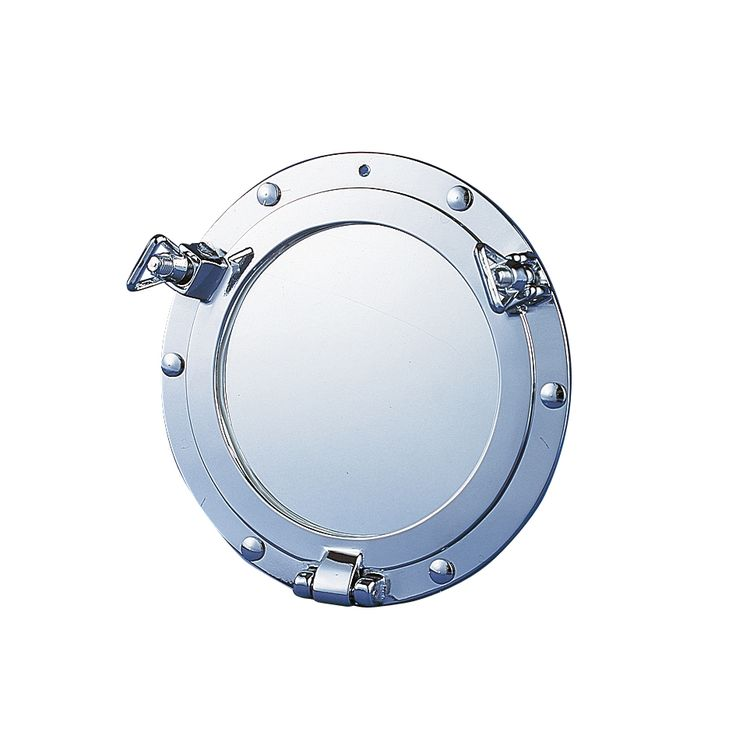 Porthole mirror / patrijspoort spiegel.