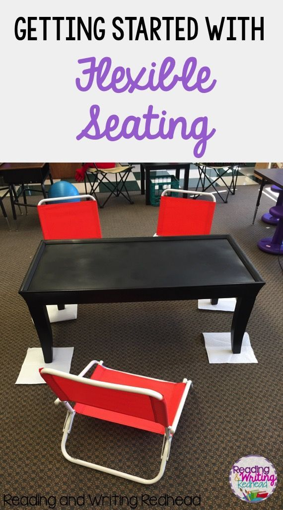 Getting Started with Flexible Seating - ideas for set up, furniture and…