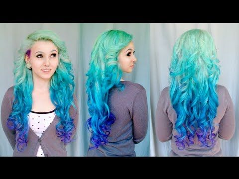 Hello dear Dudes and Dudelinas, If you wanna know how to achieve this beautiful ombre mermaid look, keep on watching and try it yourself! :) If you don't kno...
