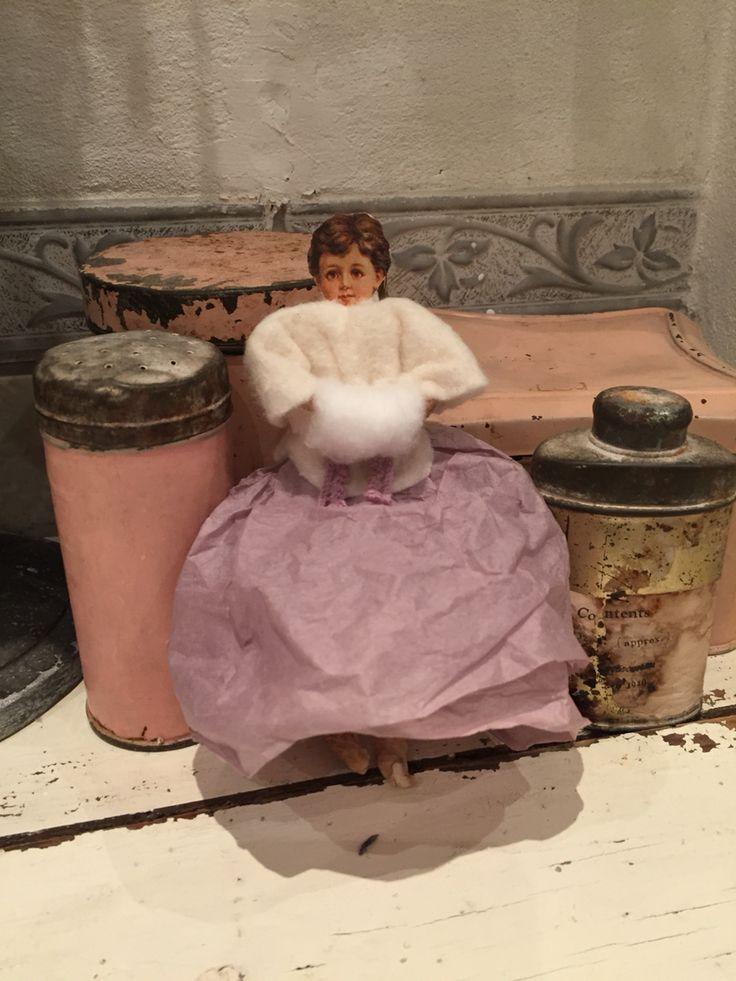 Cotton Winter Girl
