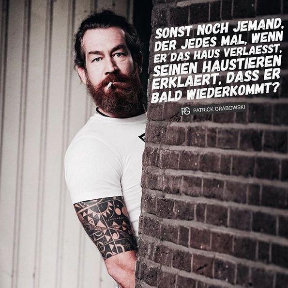 Patrick Grabowski Sprüche
