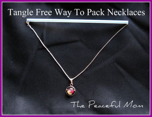 Pack Jewelry: How To Pack Jewelry for a Trip Tangle-Free!--The Peaceful Mom