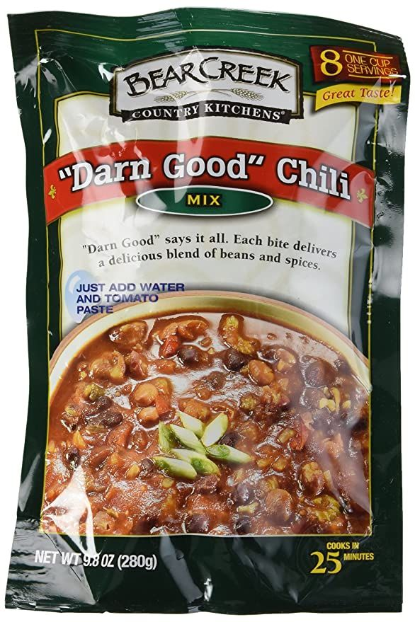 "Bear Creek Country Kitchens ""Darn Good Chili"