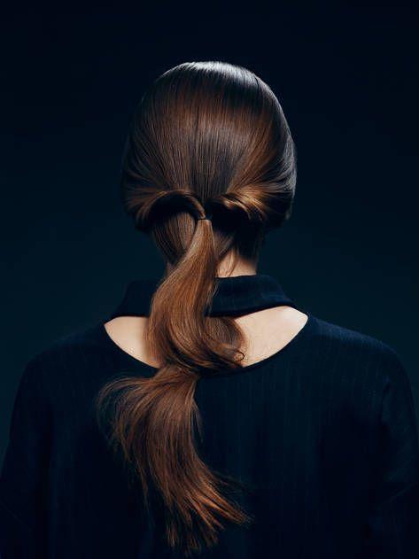 Style - Minimal + Classic : Look 2: Half-up