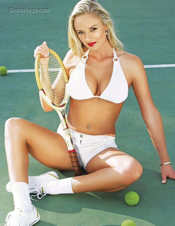 Girl tennis nude black players
