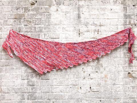 Met deze tunisch gehaakte driehoek sjaal komt het garen perfect uit. Het pakket bestaat uit...