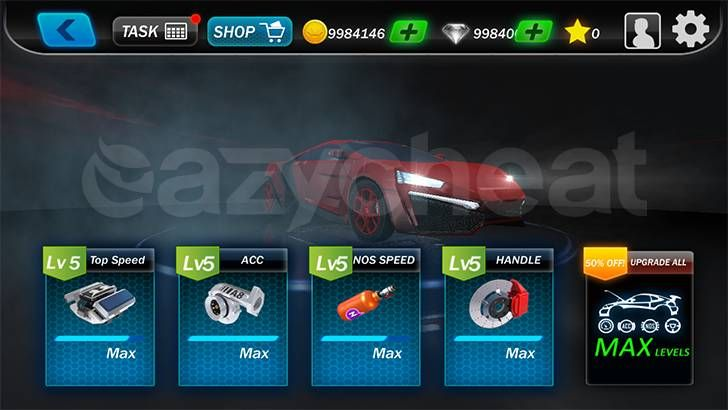 drag racing streets mod apk unlimited money 2.0.7