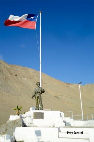 Monumento al Marinero desconocido, Iquique, Chile.