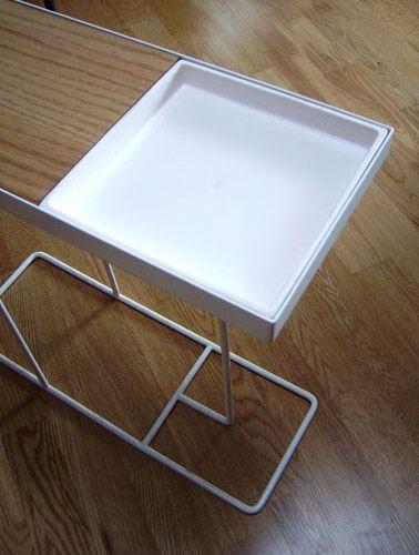Companion side table : petermaccann.com 475x175x440 cluliving.com.au $269