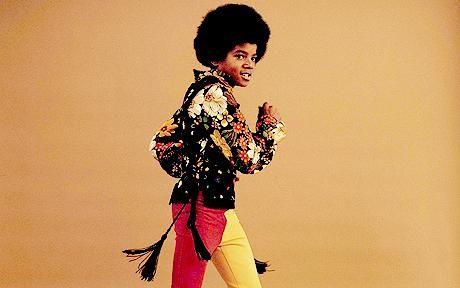 A young Michael Jackson