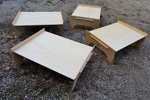 キャンプにいこう!☆YO:山テーブルはシナベニアで自作!☆軽量ソロテーブル