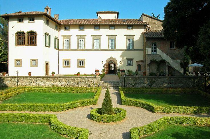 un'elegante villa cinquecentesca