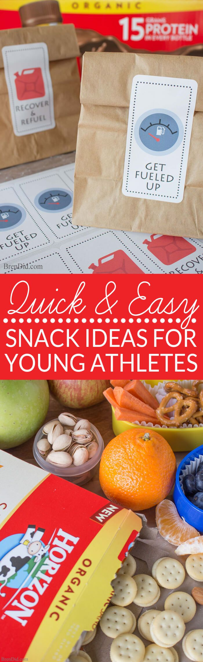 It takes nutritious foods to fuel kids for sports. Skip the protein bars and…