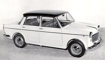 Fiat 1100 Export und 1100 Speciale, Neckar / 103 H - 1960-62  1969 first married car Germany