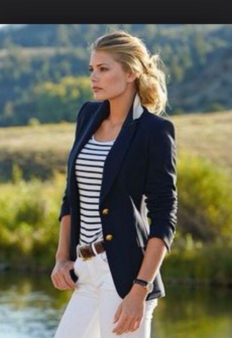 Best 25+ Navy blazer outfits ideas on Pinterest   Blazer ...