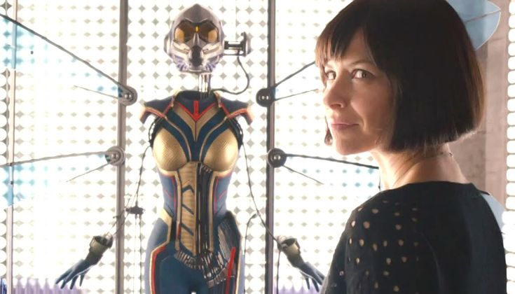 ANT-MAN Movie Clip - Wasp Suit Revealed (2015) Evangeline Lilly, Marvel ...
