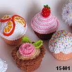 Cupcake Amigurumi Patron Gratis : Meer dan 1000 afbeeldingen over crochet cupcakes free ...