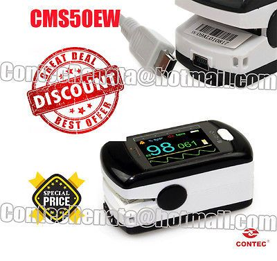 Oximeters: Wireless Bluetooth Pulse Fingertip Oximeter,Contec Cms50ew,With Pc Software -> BUY IT NOW ONLY: $89 on eBay!