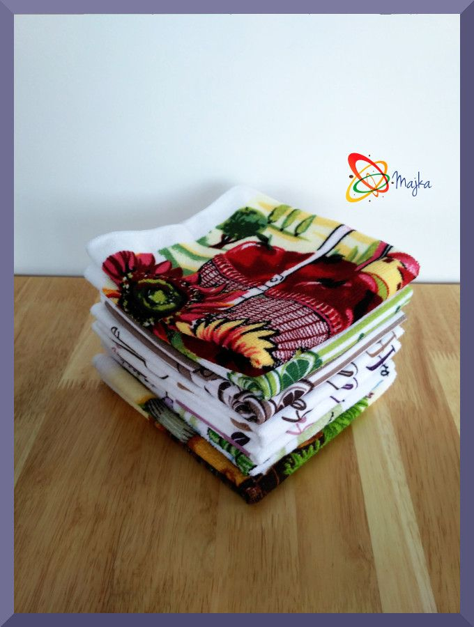 Kitchen towel made of microfiber :)