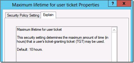 Why can it take 10+ hours for Group Policy settings to Apply? This is a situation that is commonly caused if you are using security group filtering for applying policy settings. The problem is that the Group Policy object you have applied to the user or computer requires security group membership to evaluate that it can apply to that computer. The group membership will have been replicated in Active Directory however the Kerberos Ticket Granting Ticket (TGT) on the local computer also