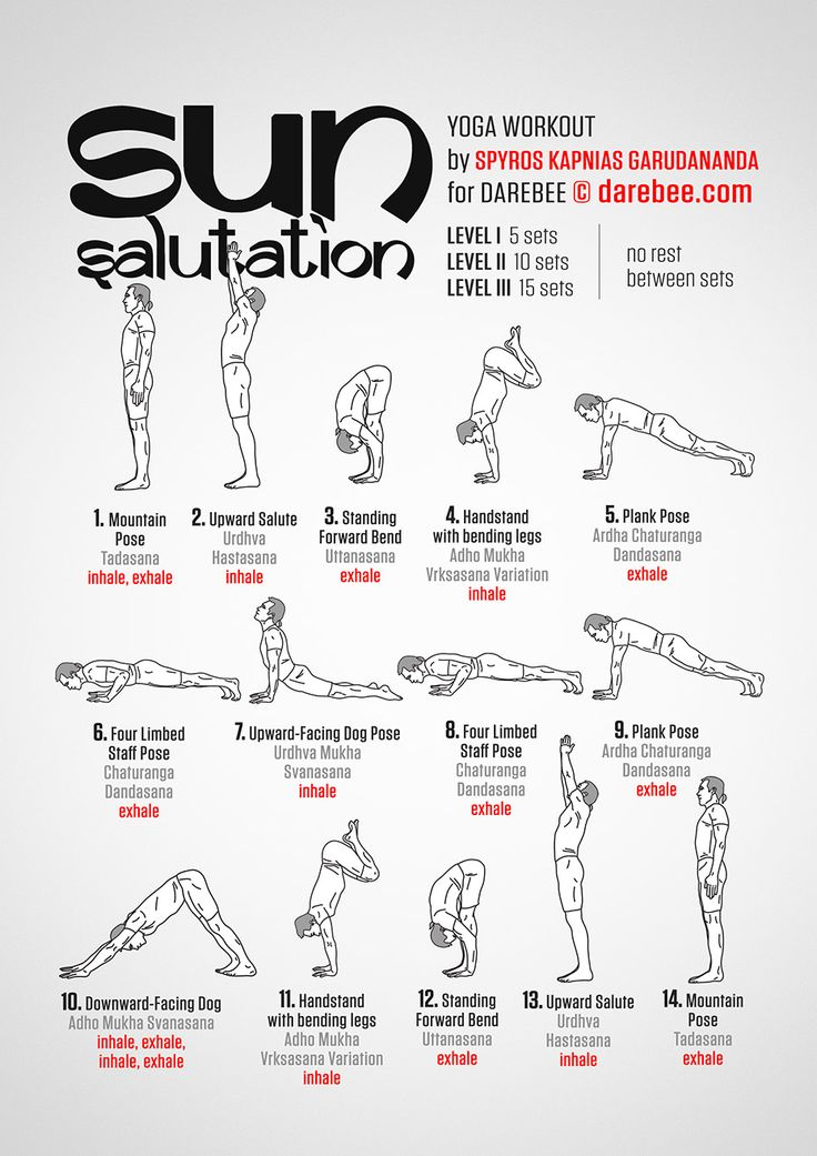 Sun Salutation Workout (someday, I will be able to do this...)