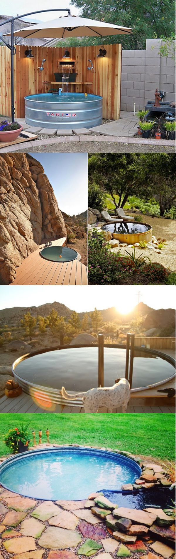 the 25 best stock tank pool ideas on pinterest tank. Black Bedroom Furniture Sets. Home Design Ideas