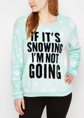 If It's Snowing Plush Sleep Shirt| rue21