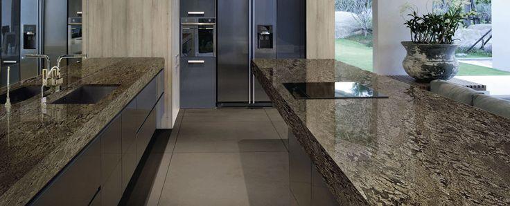die besten 25 granit arbeitsplatten ideen auf pinterest granit arbeitsplatte arbeitsplatte. Black Bedroom Furniture Sets. Home Design Ideas