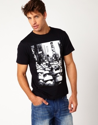 Hallensteins, Stormtrooper City T-Shirt - Might have to get Ric one of these!