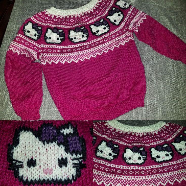 Hello Kitty Marius Knitted Hellokitty Sweather
