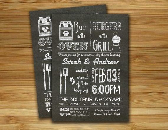 50 best invitaciones images on pinterest invitations cards and bbq baby shower invitation baby q bbq baby shower invite diy barbecue co ed couples shower printable invite filmwisefo