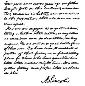 Abraham Lincoln's Introduction to Handwriting & Calligraphy