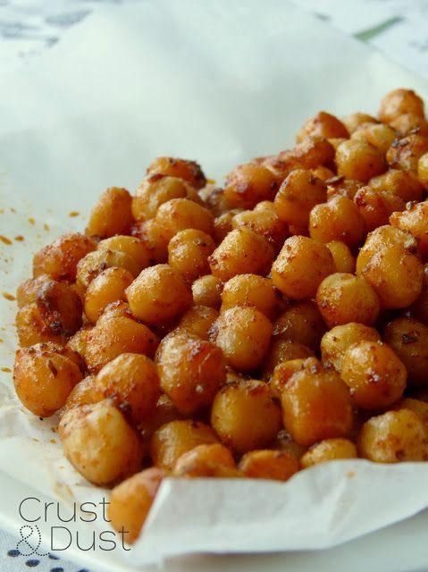 Crust and Dust - Kulinarny Blog Roku 2012. Przepisy kulinarne: Przekąska z ciecierzycy
