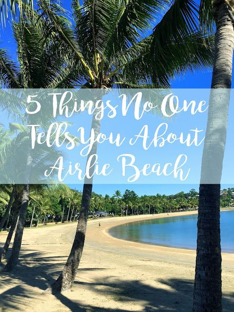 5 things no one tells you about Airlie Beach, Whitsundays