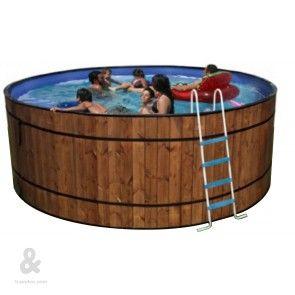 Mejores 61 im genes de piscinas montables de acero en for Piscinas montables